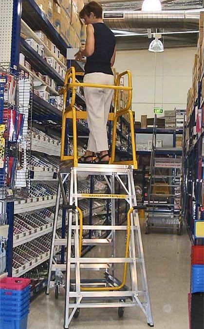 Industrial Ladders For Warehouses