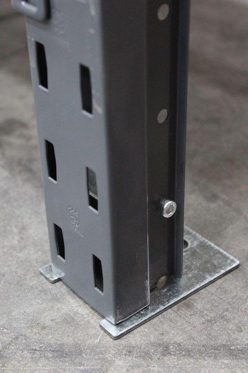Base Plate for Steel Shelving