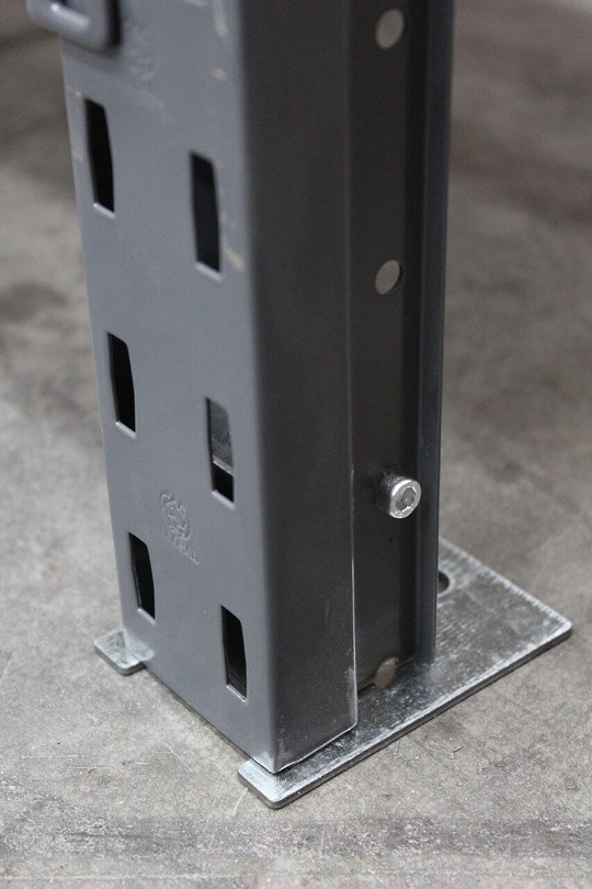 Base Plate for Steel Shelving