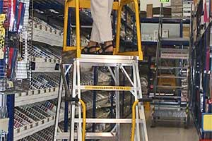 Stockmaster Navigator Warehouse Ladder