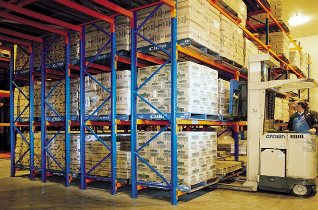 Secondhand Pallet Racking Available for All Types of Rack Systems