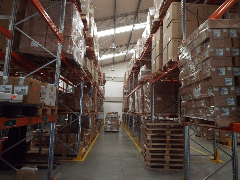 Professional warehouse