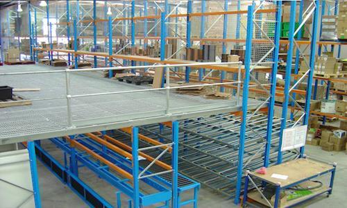 All about Mezzanine: How to Install a Mezzanine Floor to Make Your Warehouse More Space-Efficient